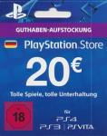 PlayStation Network Card - 20 Euro *