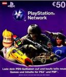 PlayStation Network Card - 50 Euro *