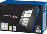 Nintendo 2DS Konsole - Schwarz & Blau