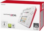 Nintendo 2DS Konsole - Weiß & Rot