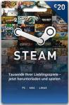 Steam Guthaben 20 Euro - Code per E-Mail *