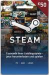 Steam Guthaben 50 Euro - Code per E-Mail *