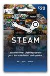 Steam Guthaben 20 Euro - Lieferung per DHL *