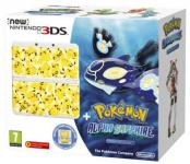 Nintendo NEW 3DS inkl. Pokemon: Alpha Saphir