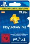 PlayStation Plus Live Code - 3 Monate DE Store (Lieferung per E-Mail) *