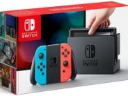 Nintendo Switch Konsole - Farbe: neonrot/neonblau