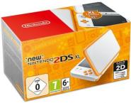 Nintendo NEW 2DS XL - weiß/orange