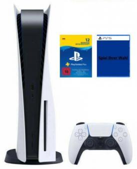 PS5 Konsole mit Laufwerk