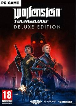 Wolfenstein 2: Youngblood - Deluxe Edition (100% UNCUT inkl. Symoblik) (PC-Downl