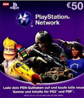 PlayStation Network Code - 50 Euro (Code per E-Mail) *