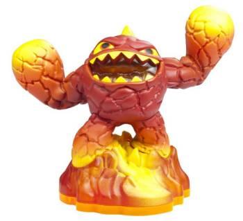 Skylanders Giants Figur Trigger - Eruptor *