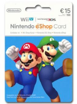 Nintendo eShop Code 15 Euro - Lieferung per E-Mail *