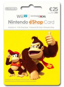 Nintendo eShop Code 25 Euro DE Store - Lieferung per E-Mail *