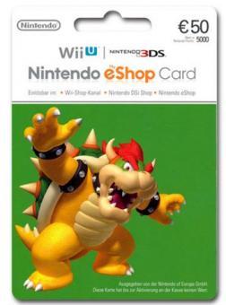 Nintendo eShop Code 50 Euro - Lieferung per E-Mail *