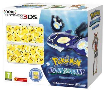 Nintendo NEW 3DS inkl. Pokemon: Alpha Saphir