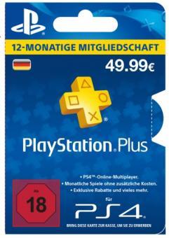 Playstation Plus Karte 12 Monate.Playstation Plus Card 12 Monate De Store Für Playstation 4 Games