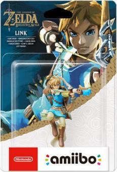 Amiibo Figur - Zelda Link Bogenschütze *