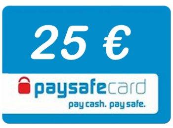 Paysafe Code 25 Euro Guthaben (Lieferung per E-Mail) *