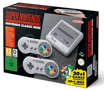 SNES - Super Nintendo Classic Mini