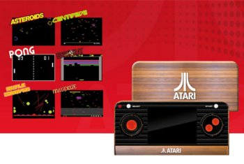 Atari Retro Handheld Konsole inkl. 50 Spiele