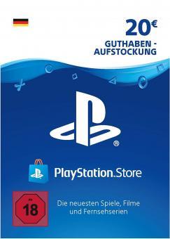 PlayStation Network Code - 20 Euro DE Store (Code per E-Mail) *