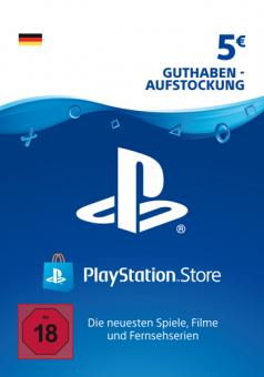 PlayStation Network Code - 05 Euro DE Store (Code per E-Mail)