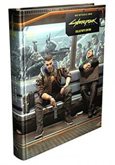Cyberpunk 2077 Lösungsbuch Collectors Edition (Gebundene Ausgabe)