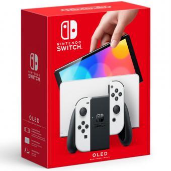 Nintendo Switch OLED-Konsole - Weiß